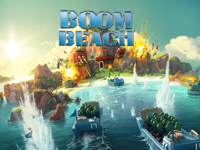 Boom Beach của Supercell có mặt trên toàn cầu 1