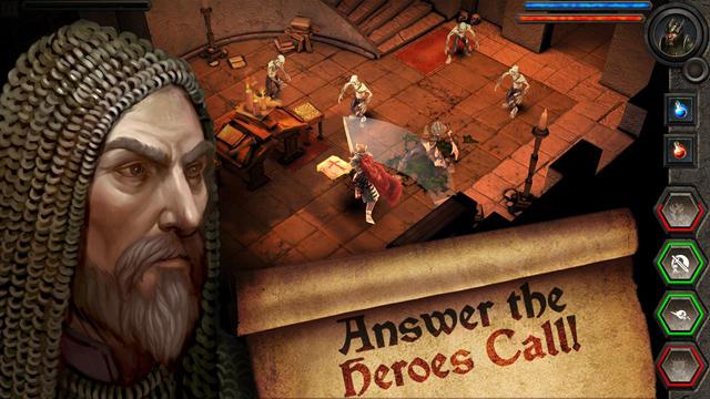 Năm tựa game Android tương đồng với Diablo 2