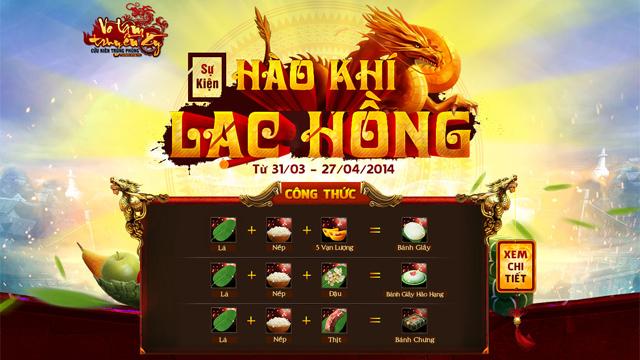 VLTK: Sự kiện Hào Khí Lạc Hồng sắp ra mắt 2