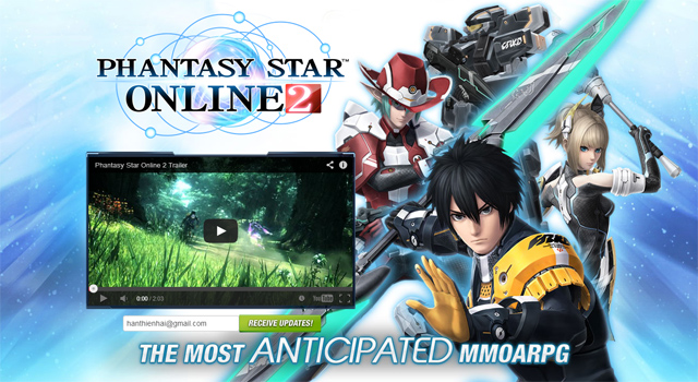 Asiasoft thử nghiệm Phantasy Star Online 2 tiếng Anh 1