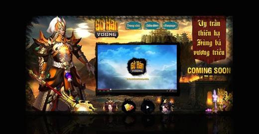 Lộ diện trang giới thiệu và ngày ra mắt Sở Hán Vương 1