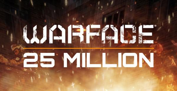 Warface cán mốc 25 triệu người đăng ký trên toàn cầu 2