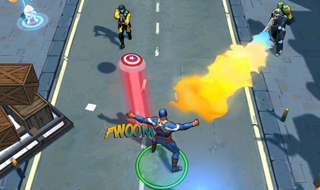Đánh giá game Captain America: The Winter Soldier 3