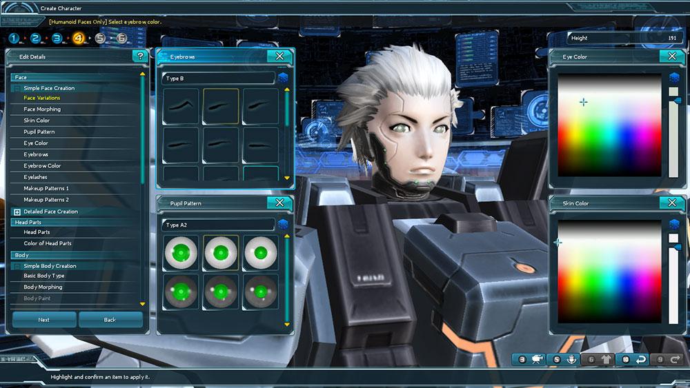 Soi khâu tạo hình nhân vật của Phantasy Star Online 2 - Ảnh 8