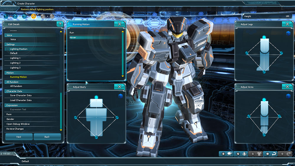 Soi khâu tạo hình nhân vật của Phantasy Star Online 2