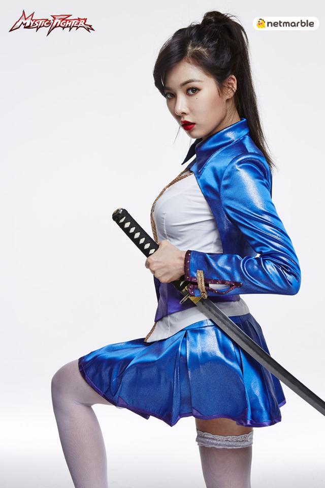 HyunA là đại sứ hình ảnh của Mystic Fighter 2