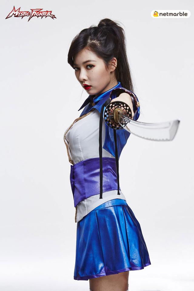 HyunA là đại sứ hình ảnh của Mystic Fighter 5