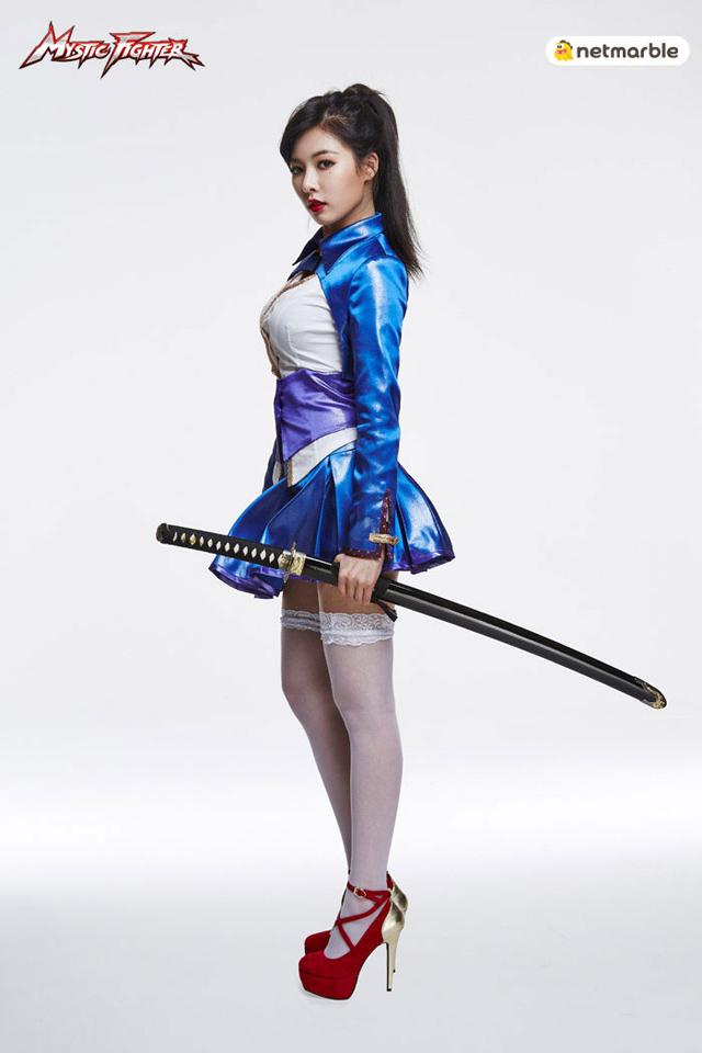 HyunA là đại sứ hình ảnh của Mystic Fighter 6