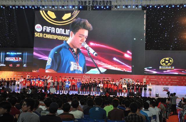 Giải TTDT Quốc tế 2014 chính thức khởi tranh 15