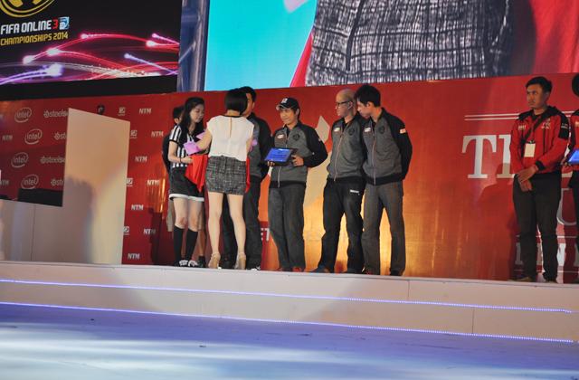 Giải TTDT Quốc tế 2014: Trao giải bộ môn FIFA Online 3 2