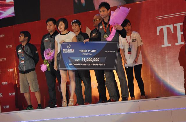 Giải TTDT Quốc tế 2014: Trao giải bộ môn FIFA Online 3 4