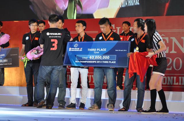 Giải TTDT Quốc tế 2014: Trao giải bộ môn FIFA Online 3 7