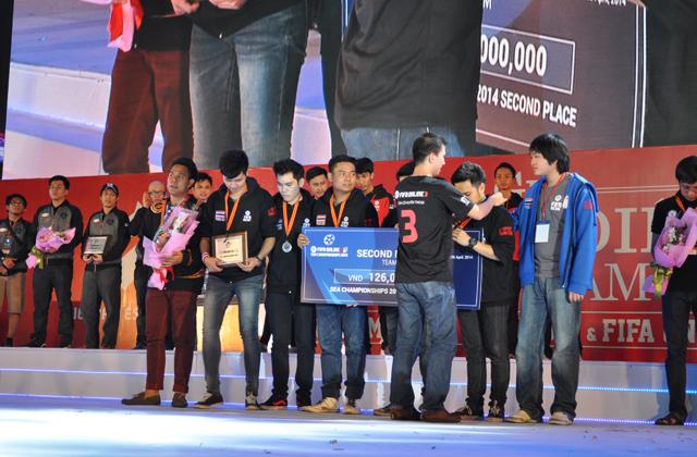 Giải TTDT Quốc tế 2014: Trao giải bộ môn FIFA Online 3 8