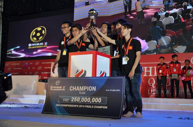 Giải TTDT Quốc tế 2014: Trao giải bộ môn FIFA Online 3 9