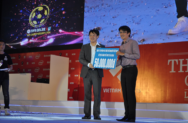Giải TTDT Quốc tế 2014: Trao giải bộ môn FIFA Online 3 11