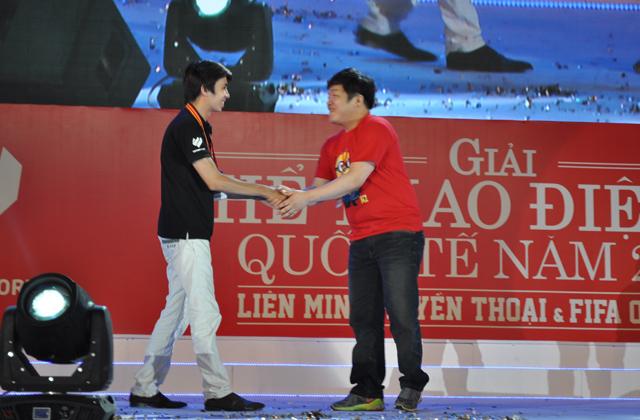 Giải TTDT Quốc tế 2014: Trao giải bộ môn FIFA Online 3 12