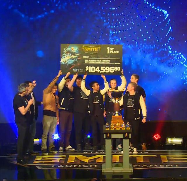 TSM vô địch SMITE Launch Tournament 2