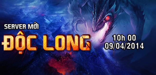 Mãnh Thú ra mắt máy chủ mới Độc Long 2