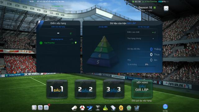 FIFA Online 3: Tìm hiểu về chế độ Xếp Hạng Giả Lập 2