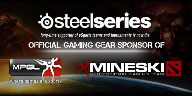 SteelSeries tài trợ cho Mineski của Philippines 2