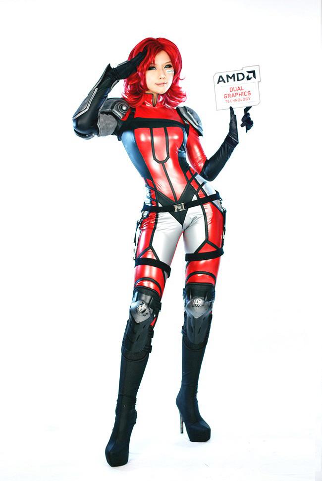 Tasha hóa thân thành chiến binh AMD - Ảnh 2