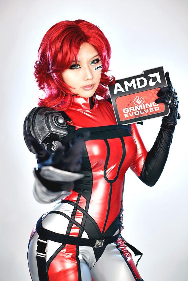 Tasha hóa thân thành chiến binh AMD - Ảnh 6