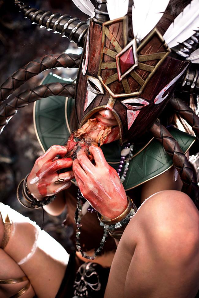 Ngắm cosplay Diablo 3 tuyệt đẹp của nhóm Spiral Cats - Ảnh 7