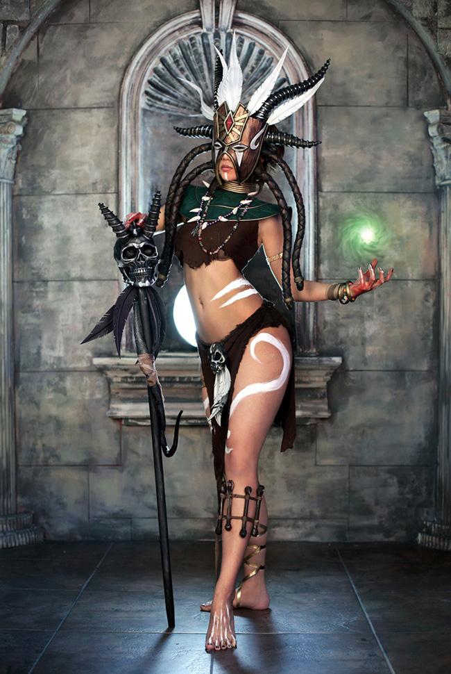 Ngắm cosplay Diablo 3 tuyệt đẹp của nhóm Spiral Cats - Ảnh 8