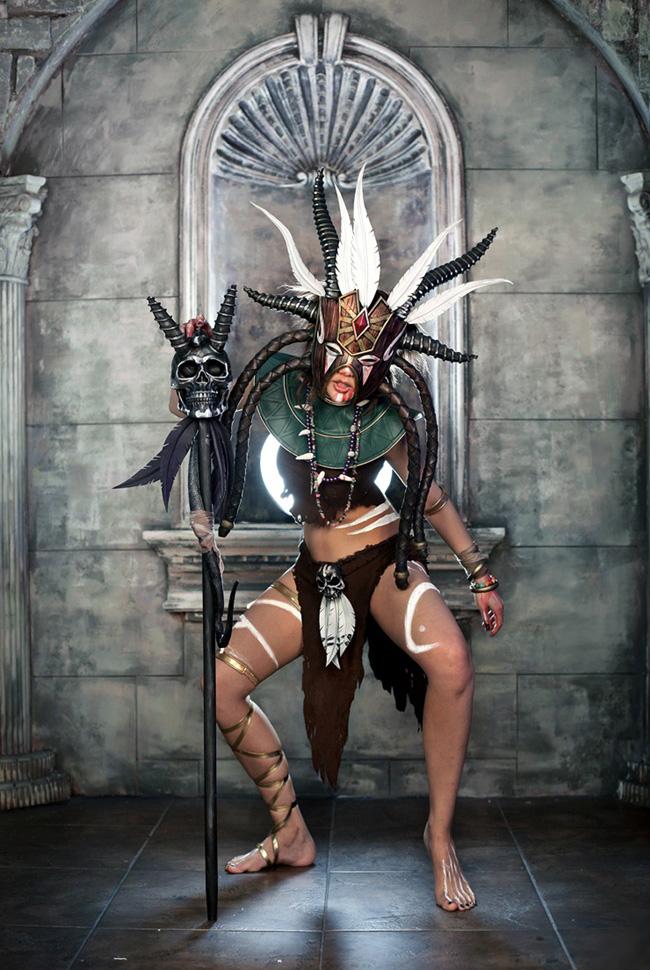 Ngắm cosplay Diablo 3 tuyệt đẹp của nhóm Spiral Cats - Ảnh 12