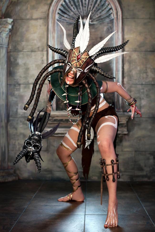Ngắm cosplay Diablo 3 tuyệt đẹp của nhóm Spiral Cats - Ảnh 13