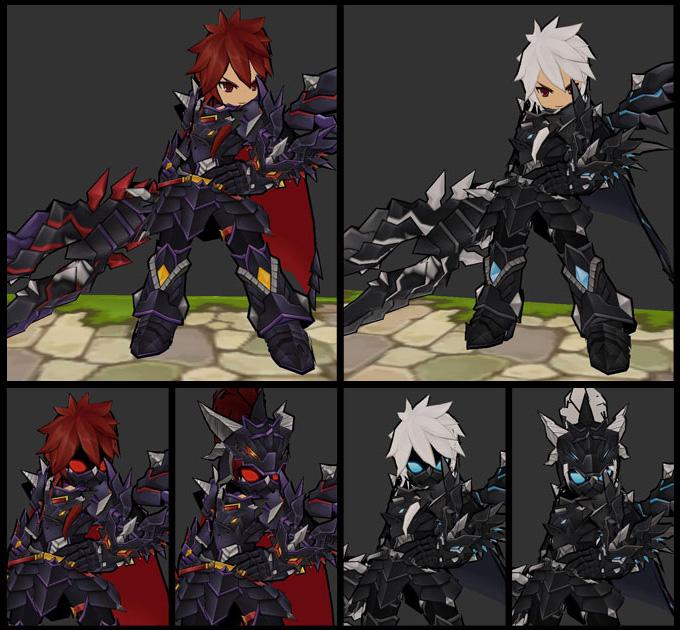Ngắm trang phục Dragon Knight trong Elsword - Ảnh 1