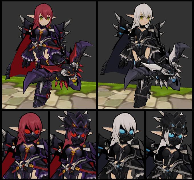 Ngắm trang phục Dragon Knight trong Elsword - Ảnh 3