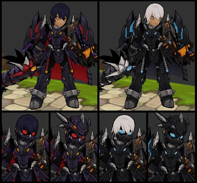 Ngắm trang phục Dragon Knight trong Elsword - Ảnh 4