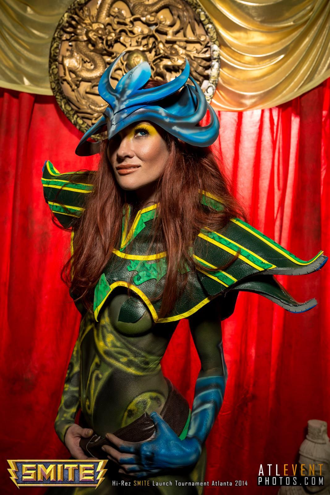 Ngắm cosplay tại SMITE Launch Tournament - Ảnh 1