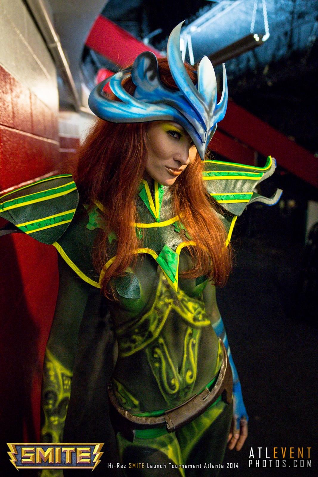 Ngắm cosplay tại SMITE Launch Tournament - Ảnh 8