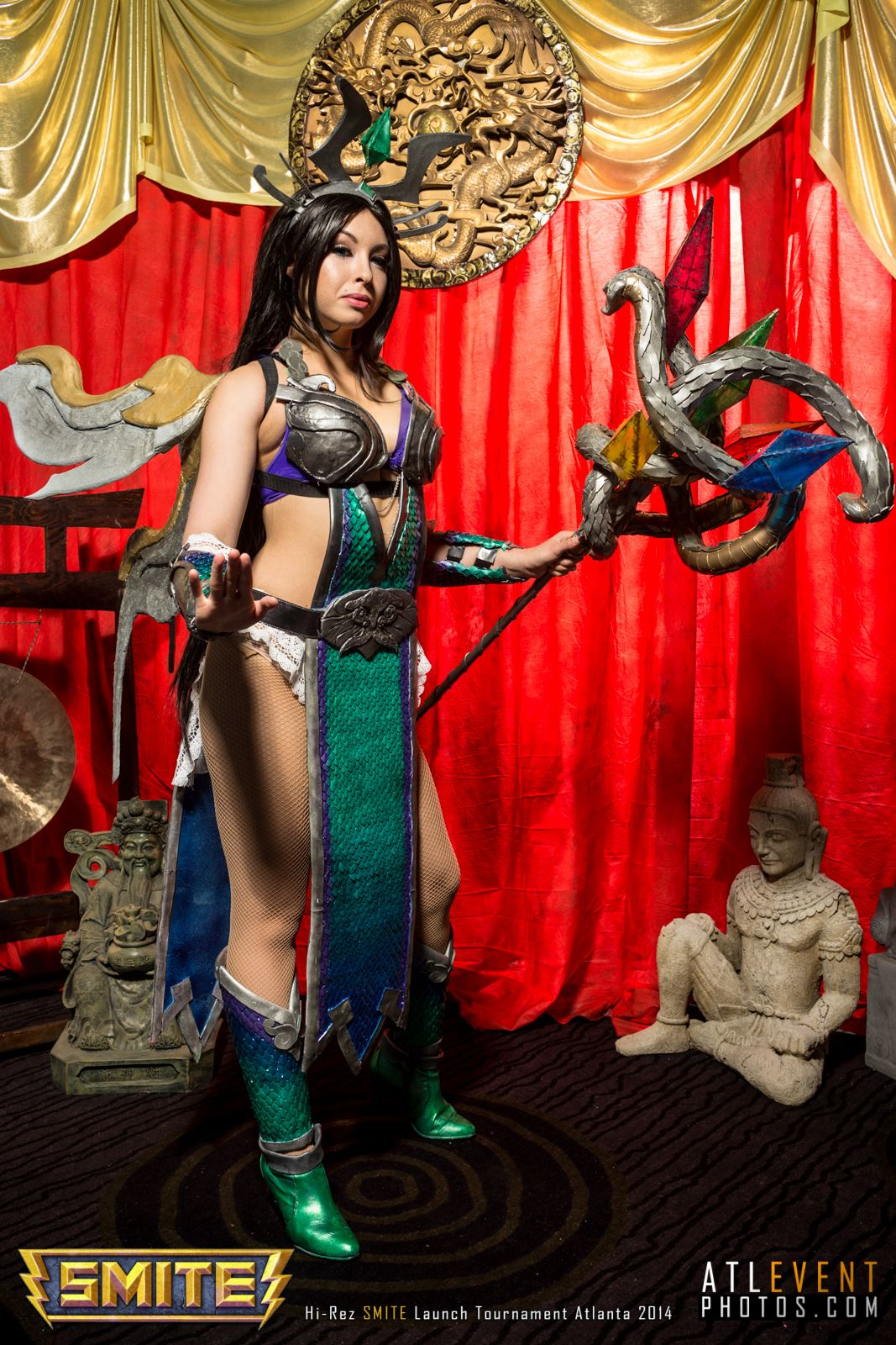 Ngắm cosplay tại SMITE Launch Tournament - Ảnh 9