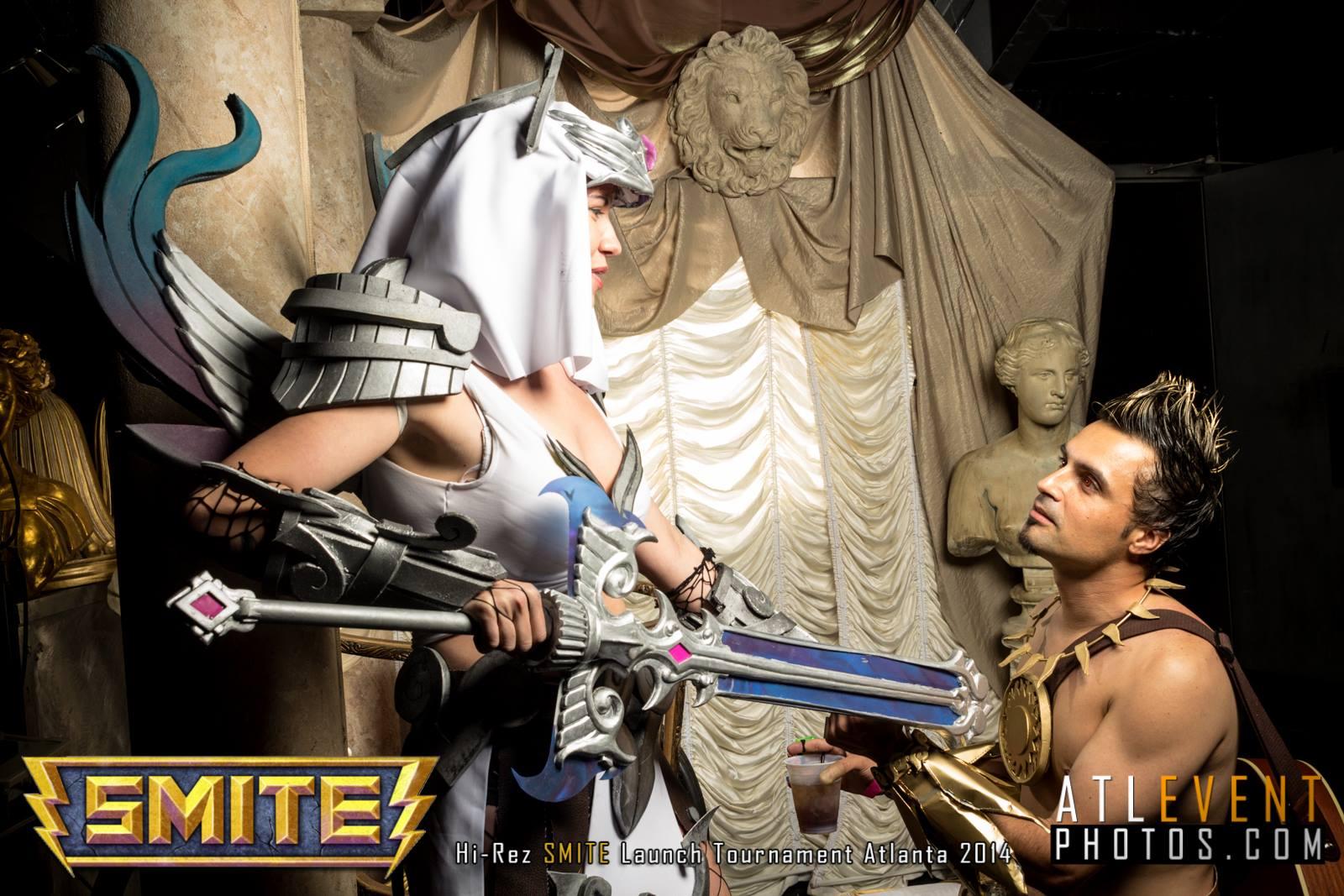 Ngắm cosplay tại SMITE Launch Tournament - Ảnh 100
