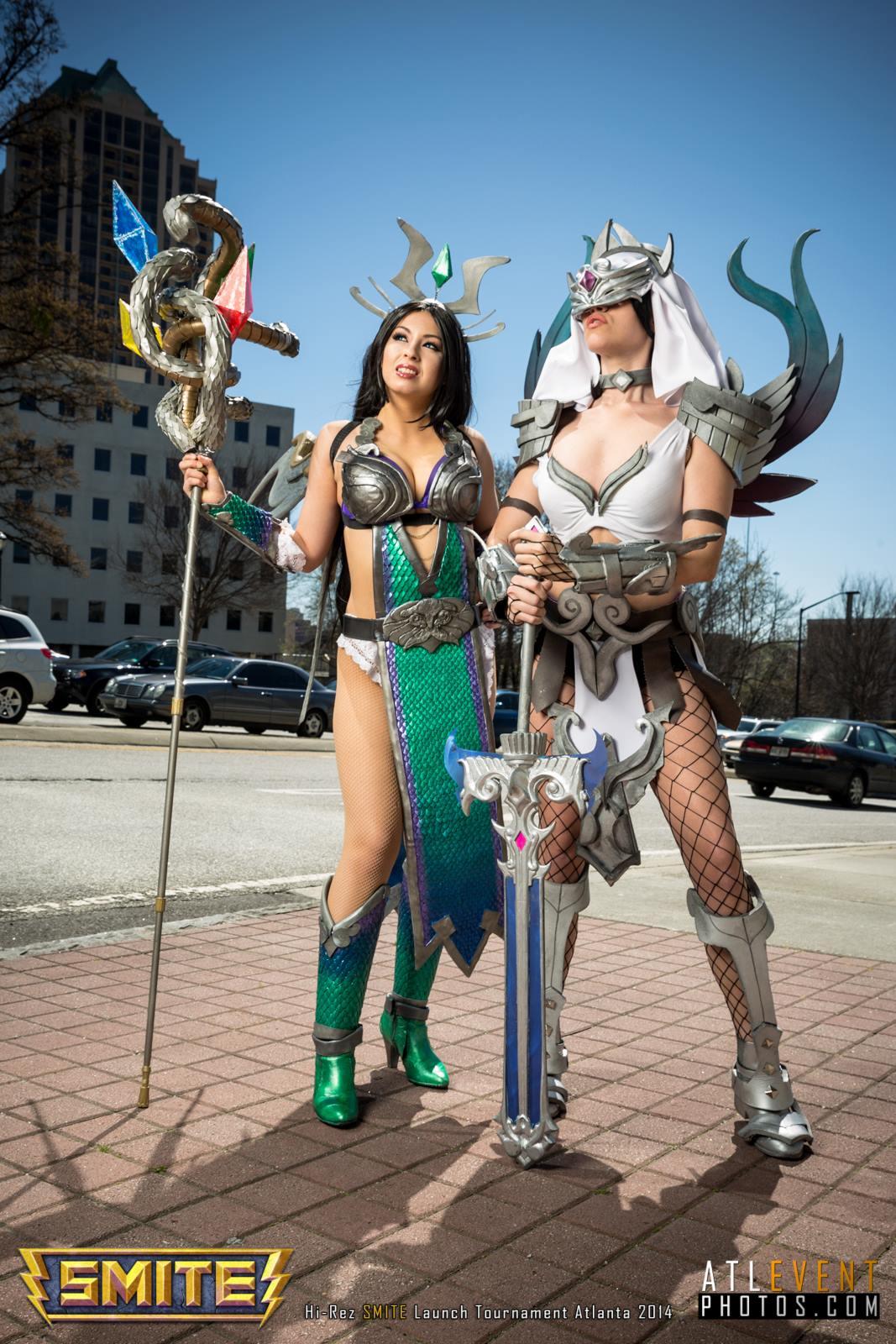 Ngắm cosplay tại SMITE Launch Tournament - Ảnh 120