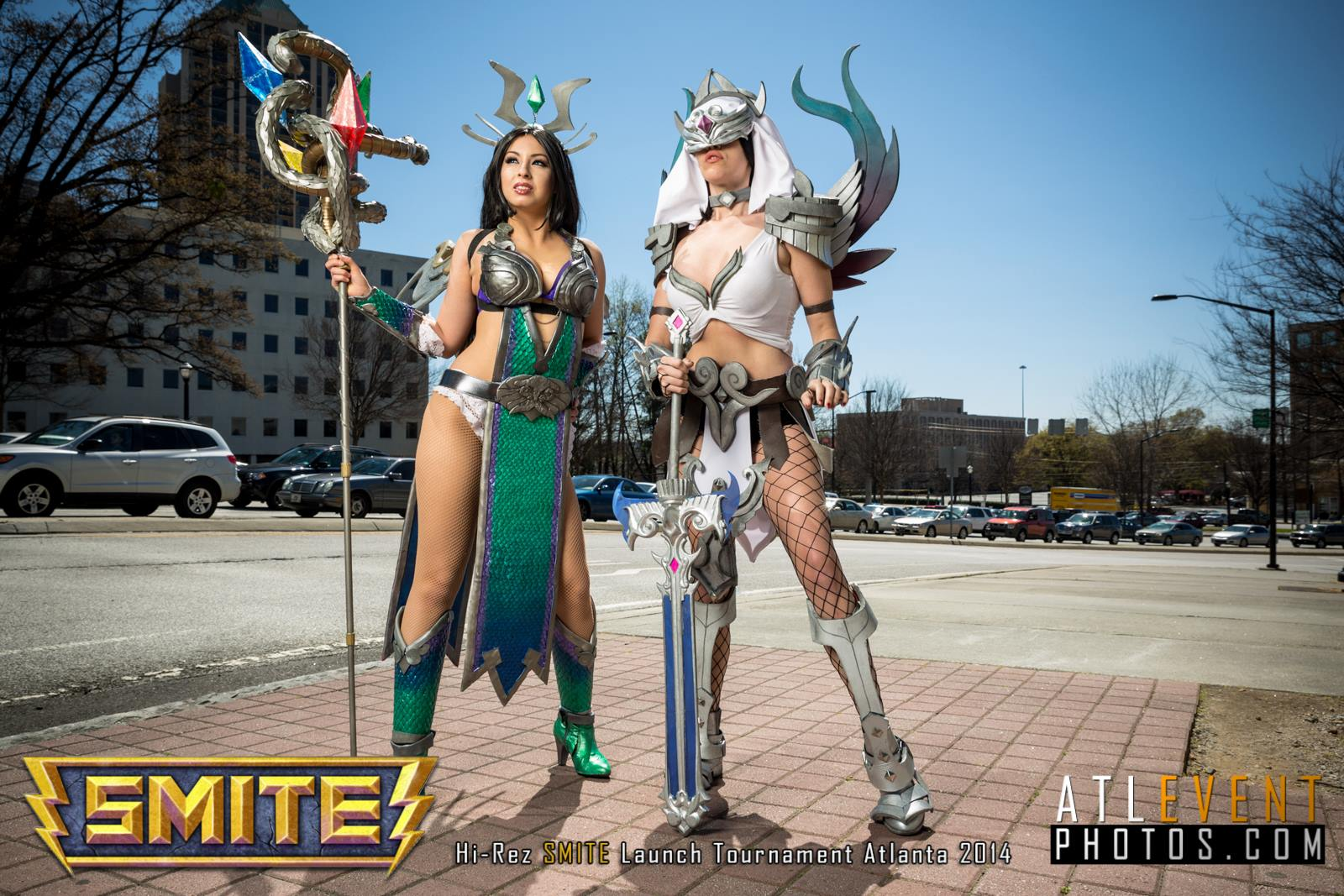 Ngắm cosplay tại SMITE Launch Tournament - Ảnh 121