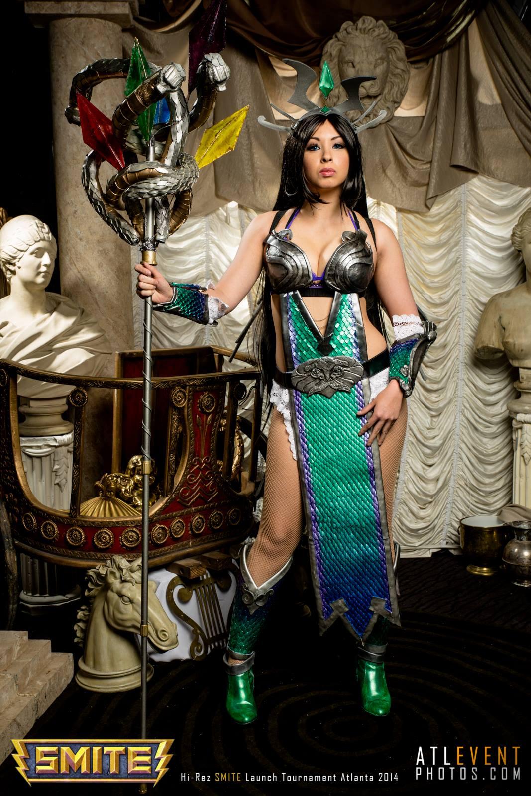 Ngắm cosplay tại SMITE Launch Tournament - Ảnh 127