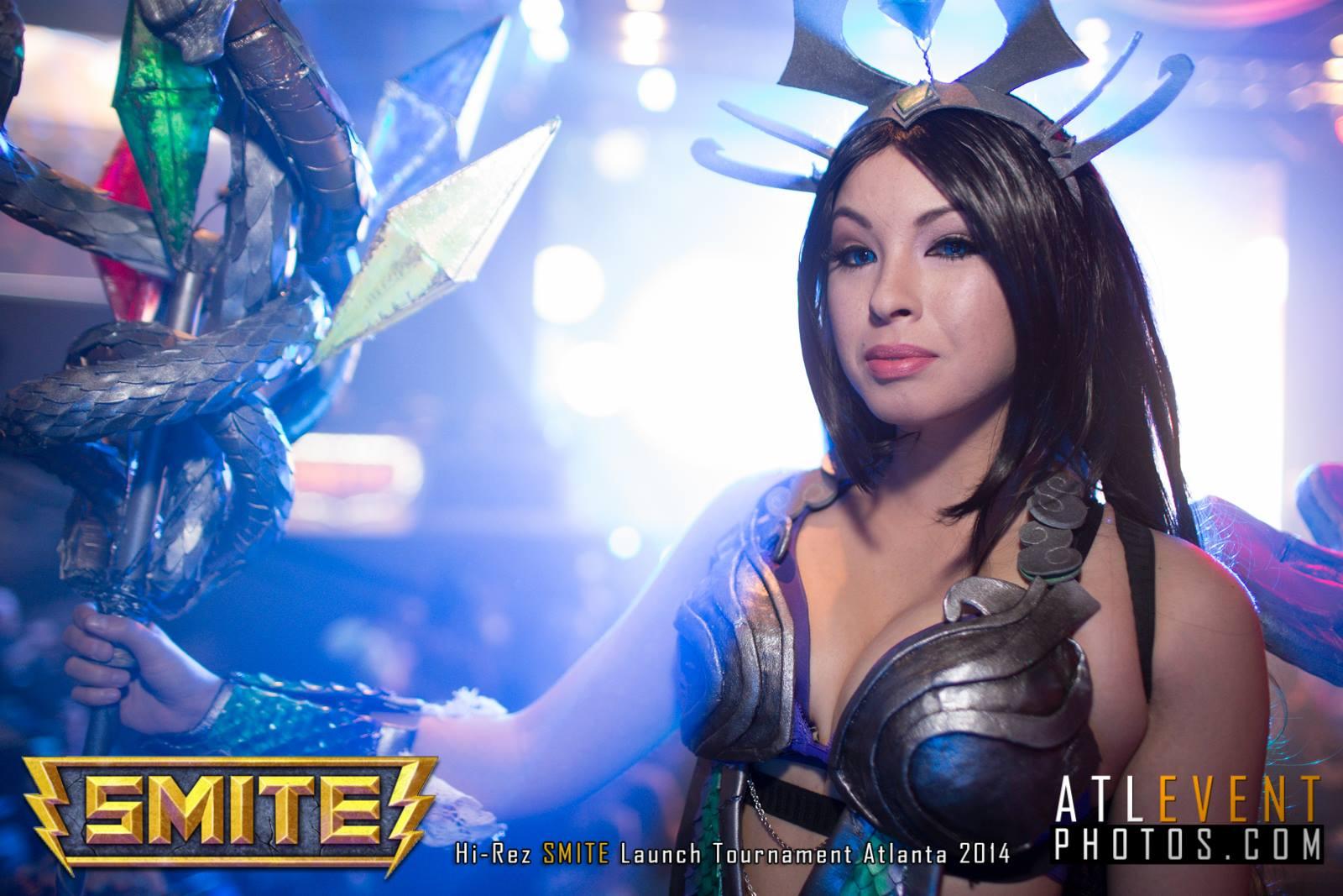 Ngắm cosplay tại SMITE Launch Tournament - Ảnh 128