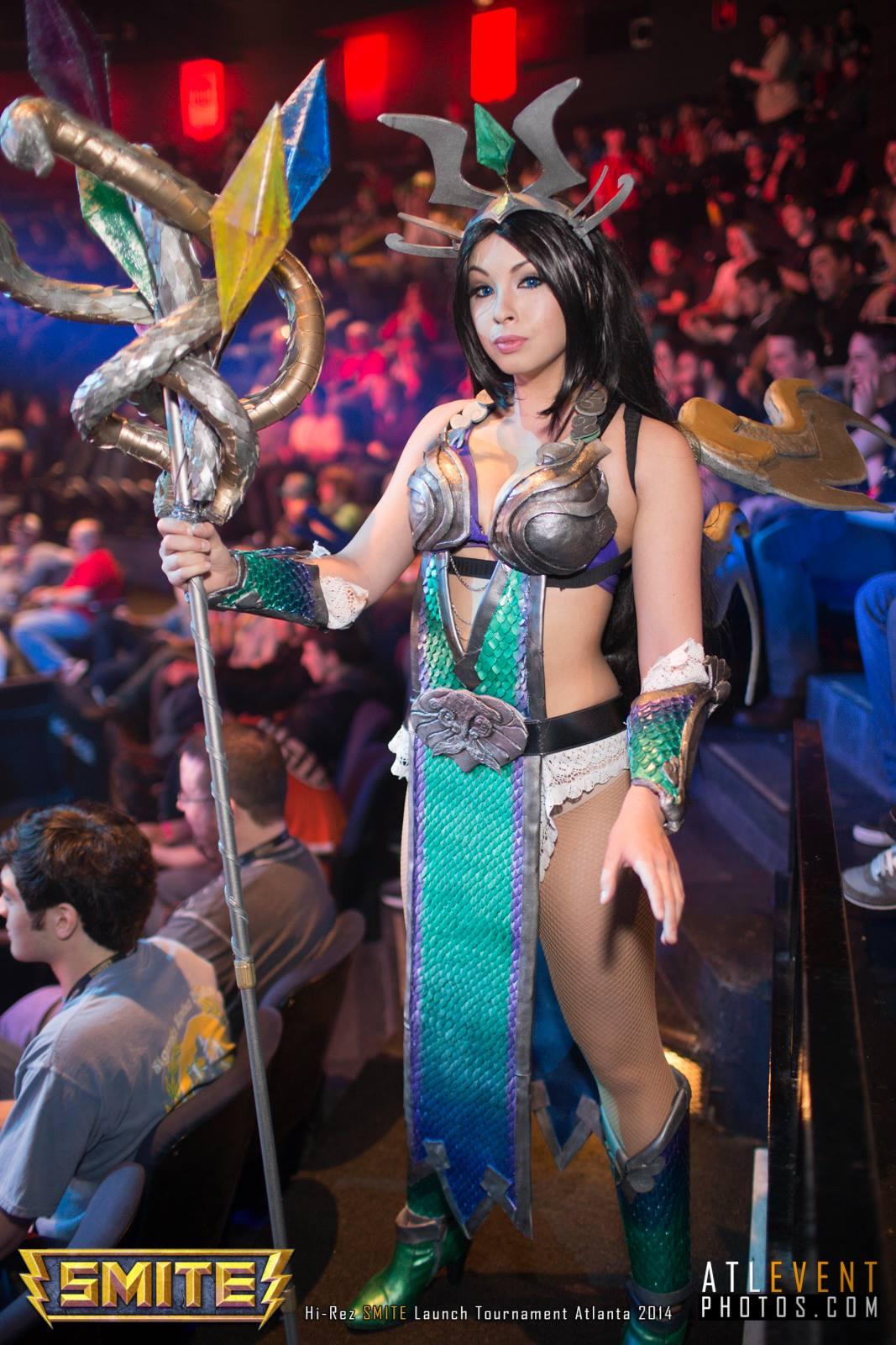 Ngắm cosplay tại SMITE Launch Tournament - Ảnh 32