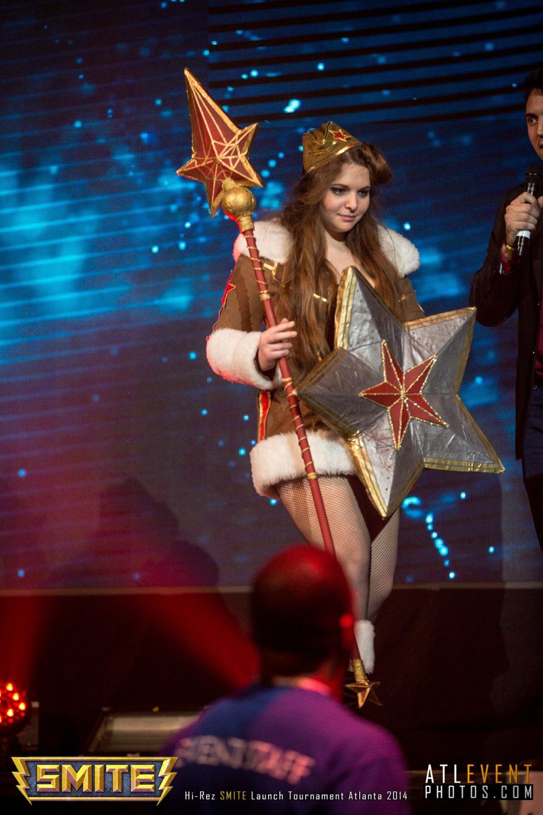 Ngắm cosplay tại SMITE Launch Tournament - Ảnh 43