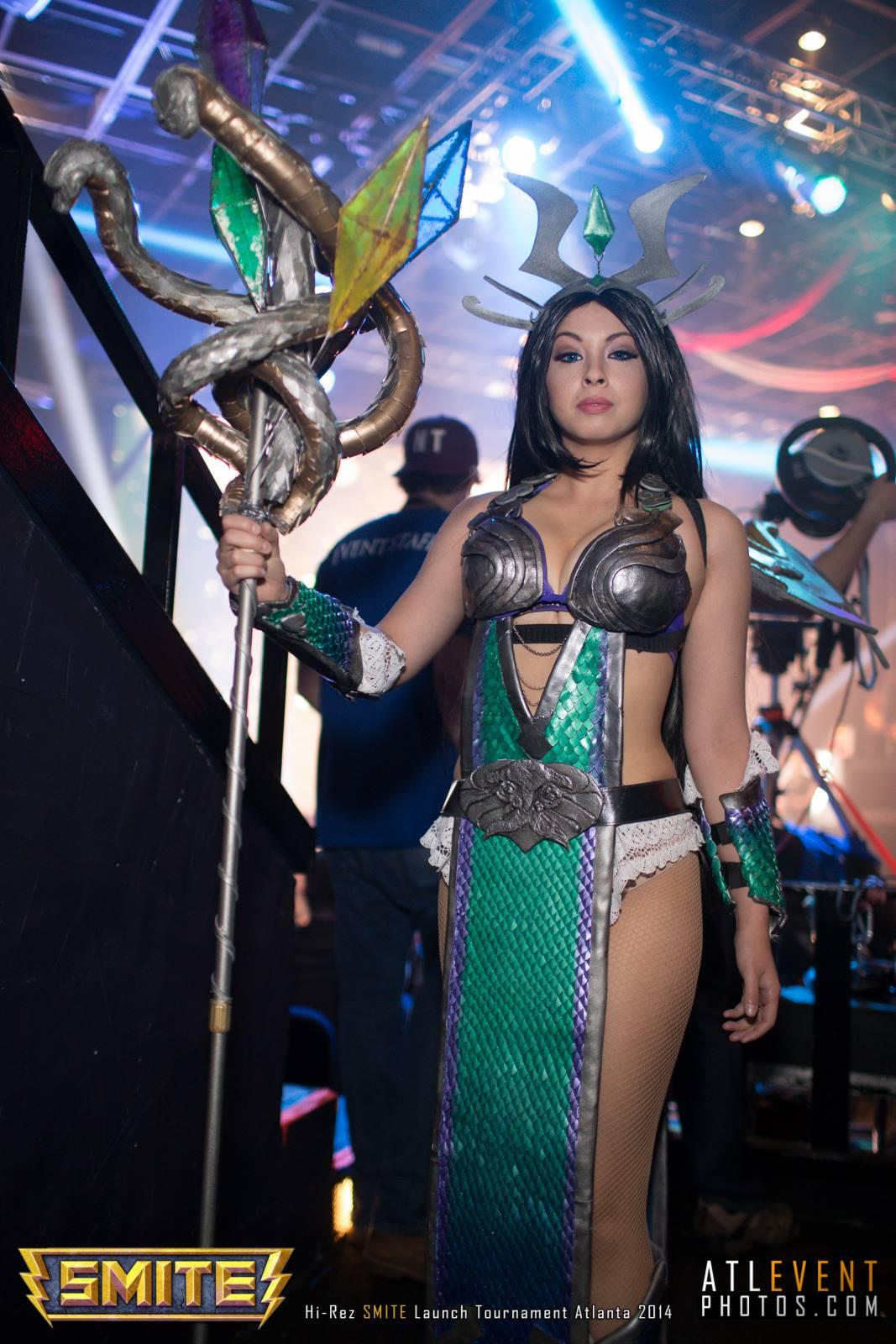 Ngắm cosplay tại SMITE Launch Tournament - Ảnh 46