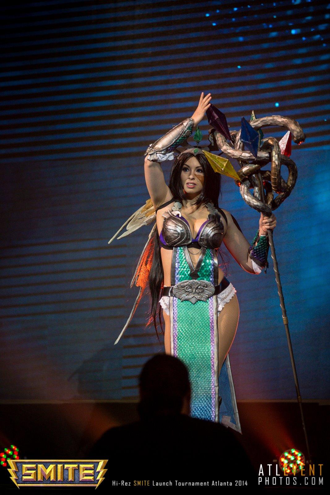 Ngắm cosplay tại SMITE Launch Tournament - Ảnh 59