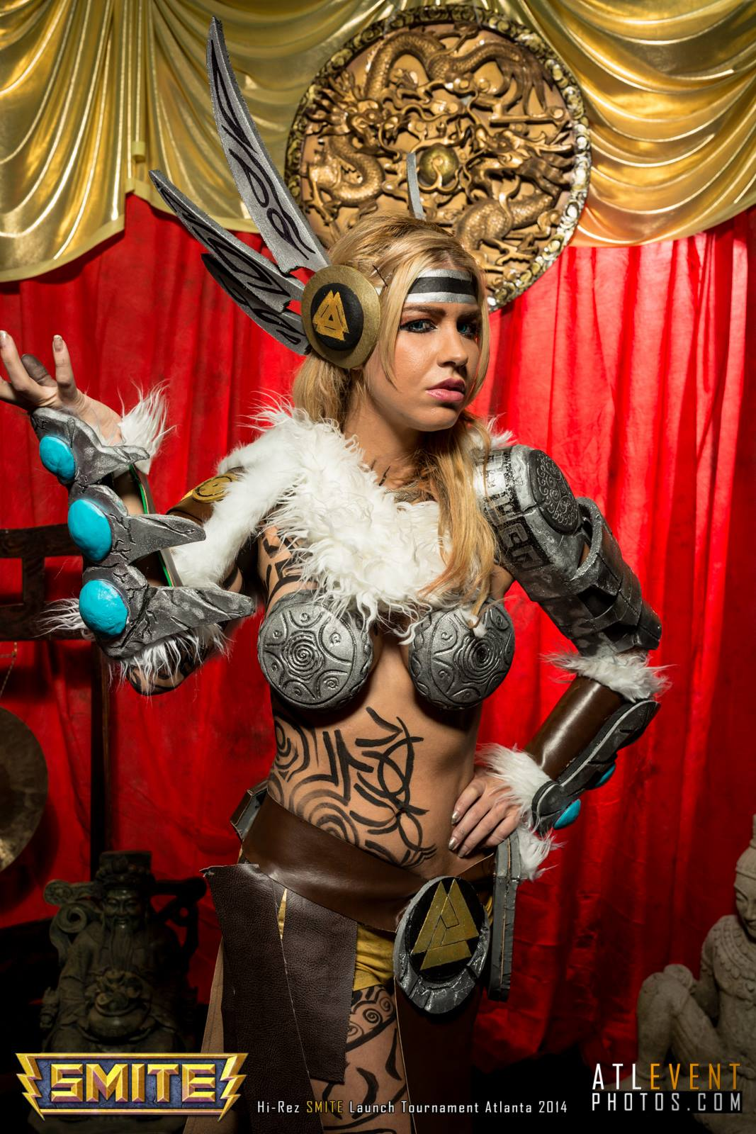 Ngắm cosplay tại SMITE Launch Tournament - Ảnh 73