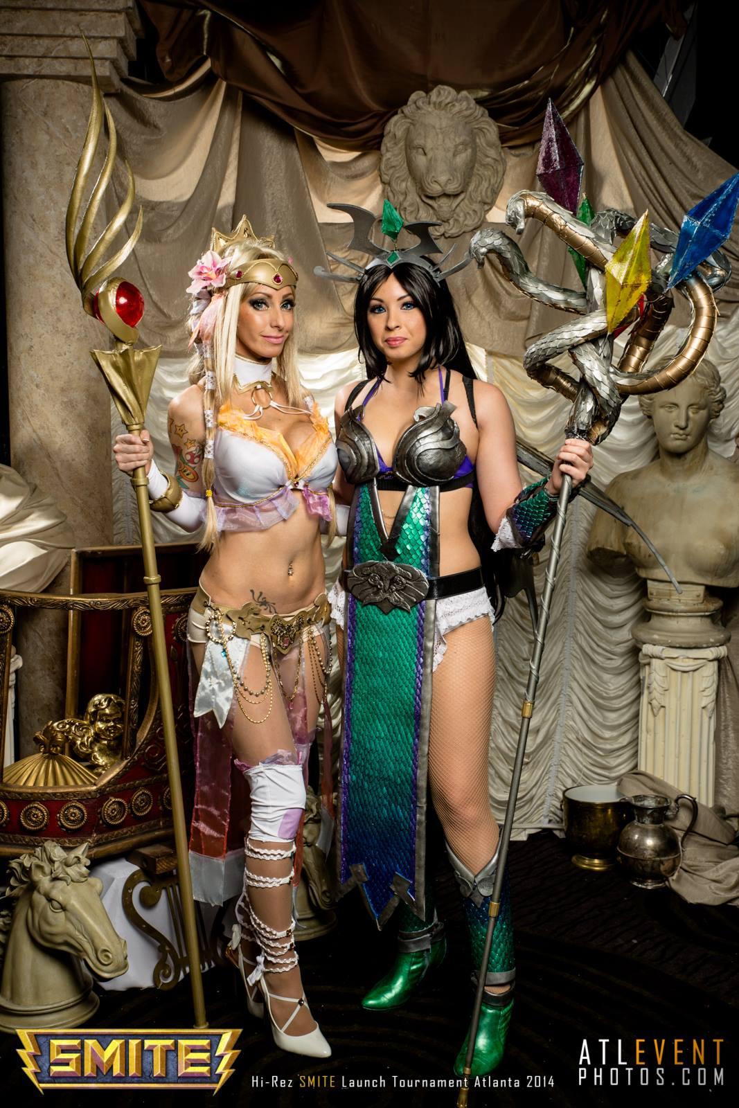 Ngắm cosplay tại SMITE Launch Tournament - Ảnh 80