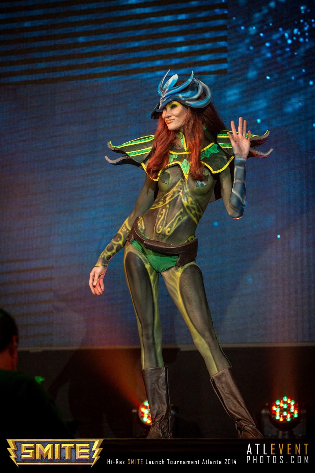 Ngắm cosplay tại SMITE Launch Tournament - Ảnh 96