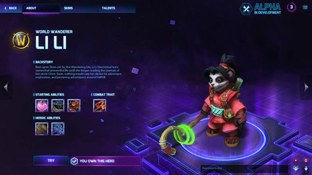 Blizzard giới thiệu tướng mới trong Heroes of the Storm 4