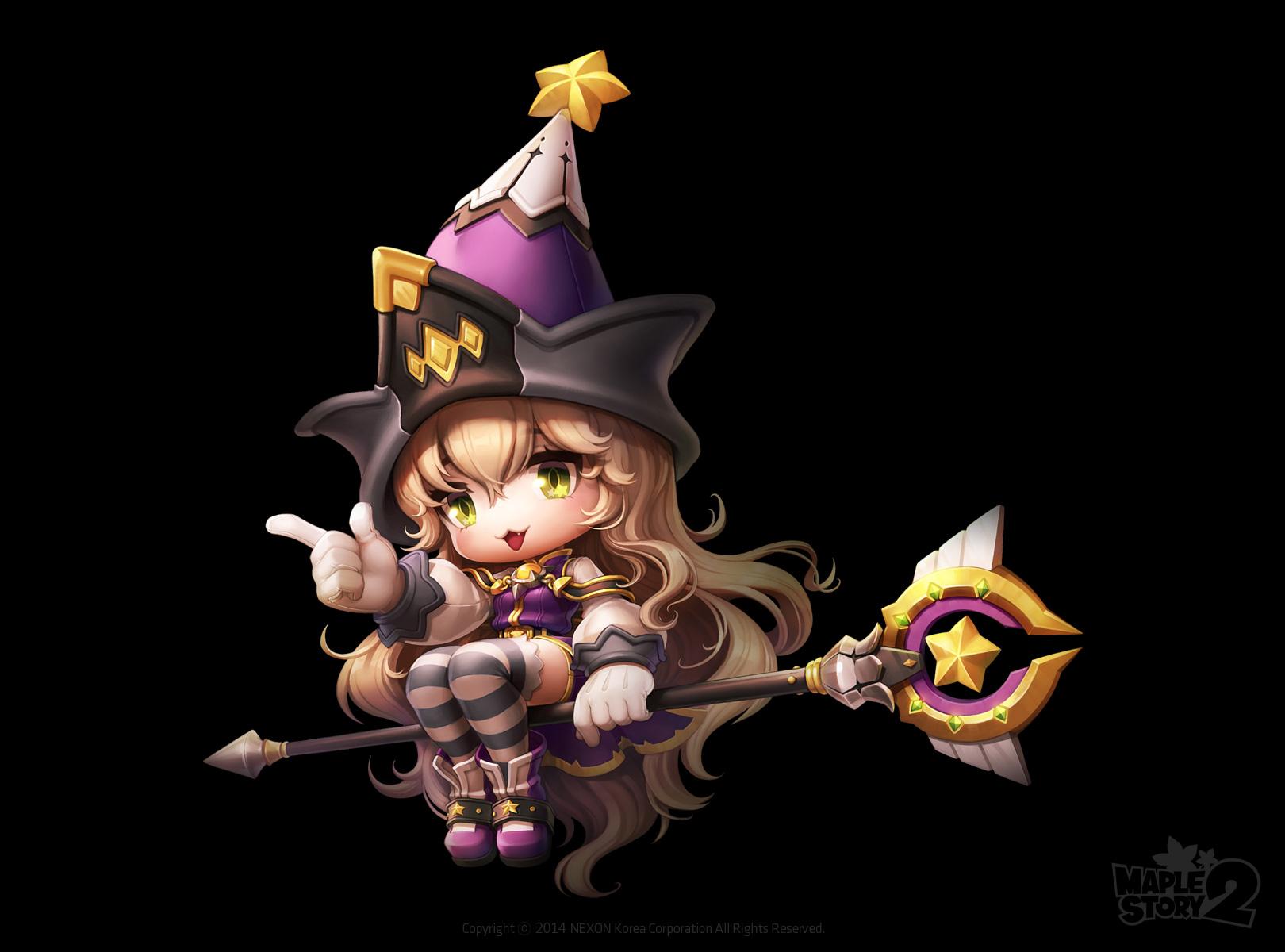 Priest và Wizard trong MapleStory 2 lộ diện 4